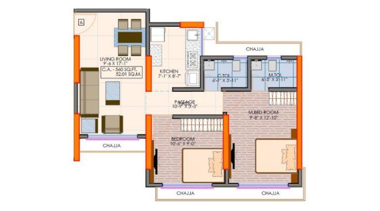 project-2bhk-floor-plan-victoria-54-vaibhav-laxmi-developers-kannamwar-nagar-vikhroli-east-mumbai-maharashtra