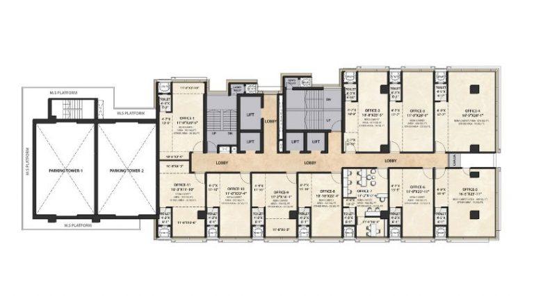 project-eigth-nineth-floor-plan-the-metropole-azlo-realty-jethalal-parekh-road-ghatkopar-west-maharashtra