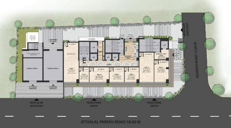 project-ground-floor-plan-the-metropole-azlo-realty-jethalal-parekh-road-ghatkopar-west-maharashtra