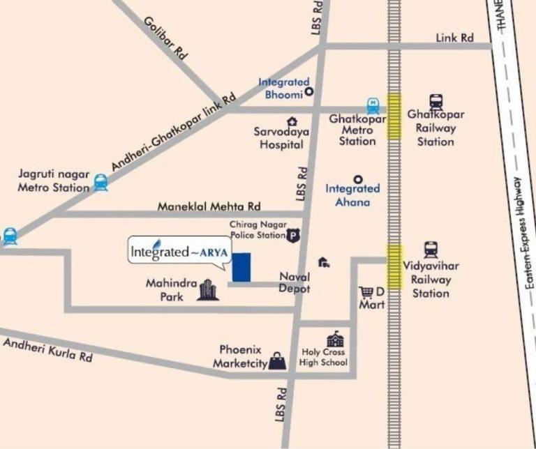 project-location-map-integrated-arya-integrated-spaces-limited-ghatkopar-west-mumbai-maharashtra