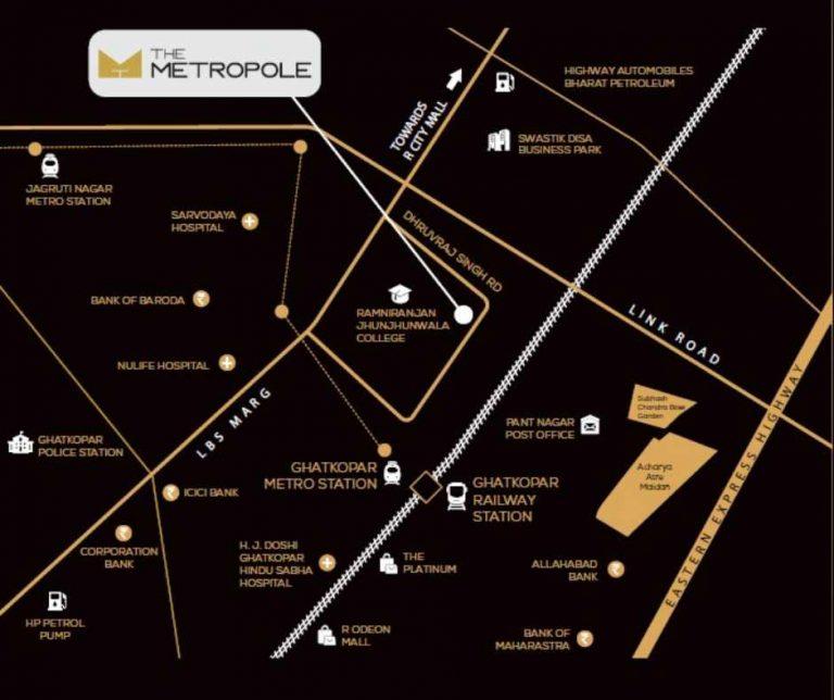 project-location-map-the-metropole-azlo-realty-jethalal-parekh-road-ghatkopar-west-maharashtra