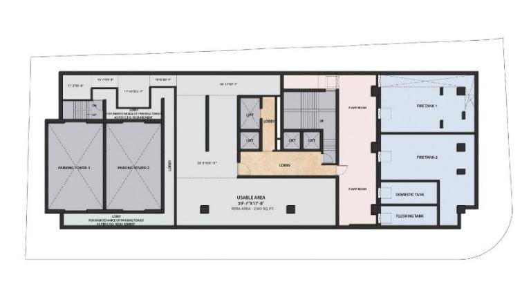 project-second-floor-basement-plan-the-metropole-azlo-realty-jethalal-parekh-road-ghatkopar-west-maharashtra