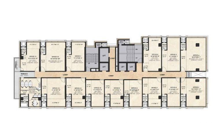 project-tenth-floor-plan-the-metropole-azlo-realty-jethalal-parekh-road-ghatkopar-west-maharashtra