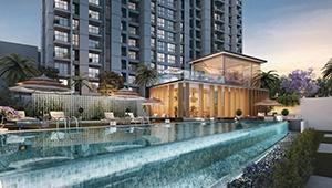 chlorine-free-infinity-pool-amenities-godrej-city-woods-godrej-properties-panvel-navi-mumbai-maharashtra