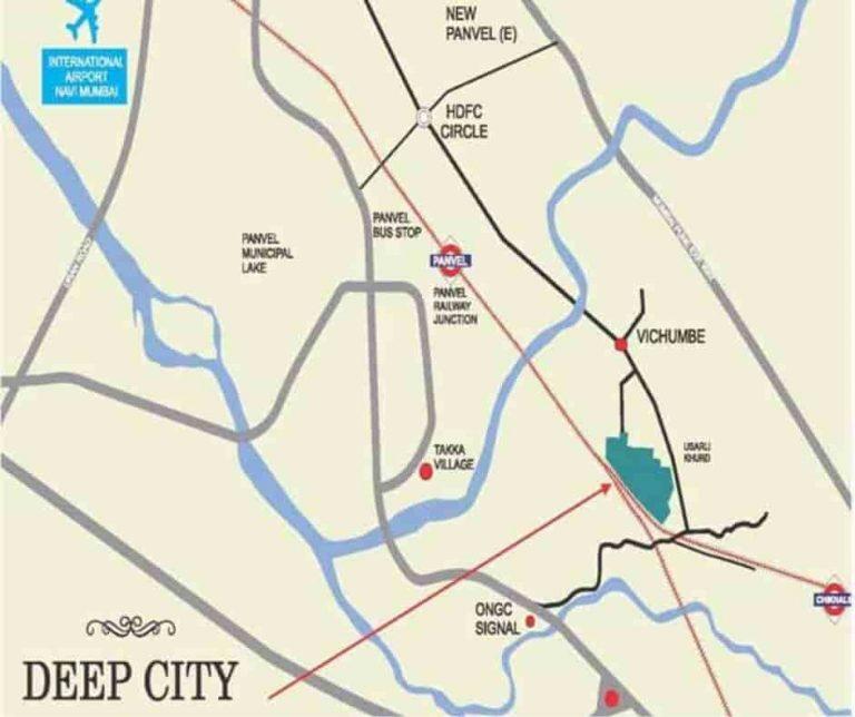location-google-map-deep-city- usarli-khurd-panvel –navi-mumbai-maharashtra