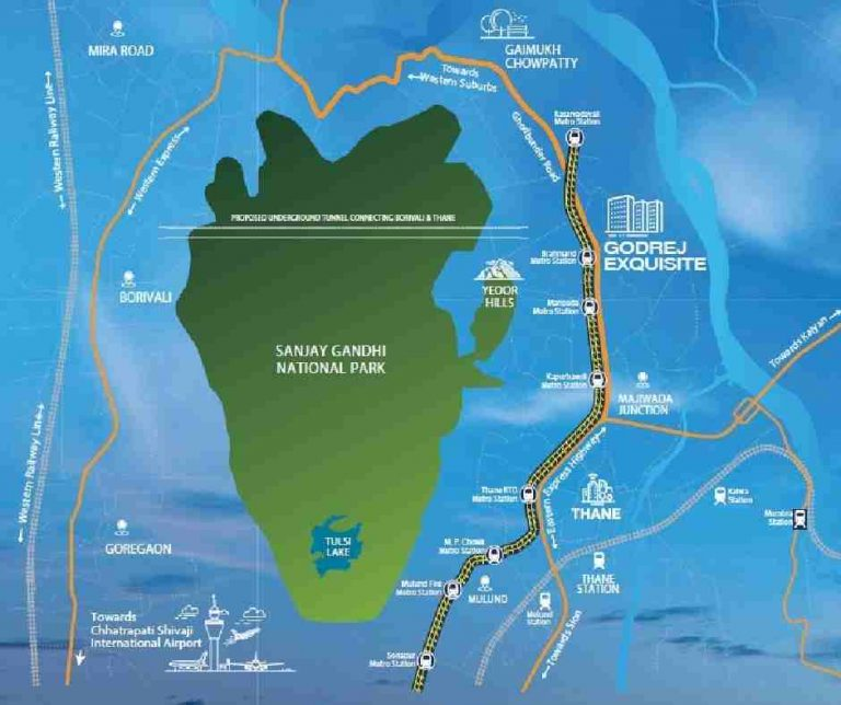location-google-map-godrej-exquisite-godrej-properties-kavesar-thane-mumbai-maharashtra