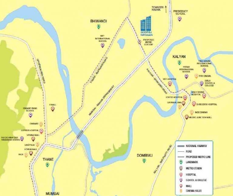 location-google-map-godrej-nirvaan-thane-extension-kalyan-west-thane-maharashtra