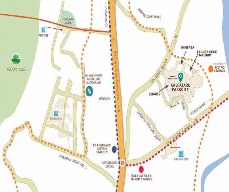 location-google-map-kalpataru-immensa-kalpataru-group-kolshet-road-thane-west-maharashtra