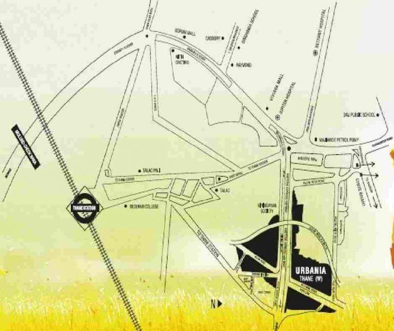 location-google-map-rustomjee-azziano-rustomjee-urbania-majiwada-junction-thane-maharashtra