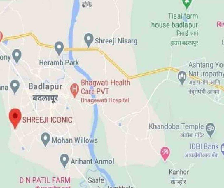 location-google-map-shreeji-iconic-shreeji-lifespaces-badlapur-east-thane-mumbai-maharashtra