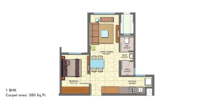 project-1bhk-type-a-unit-plan-lodha-codename-golden-dream-lodha-group-taloja-navi-mumbai-maharashtra