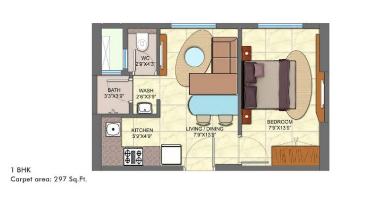 project-1bhk-type-d-unit-plan-lodha-codename-golden-dream-lodha-group-taloja-navi-mumbai-maharashtra