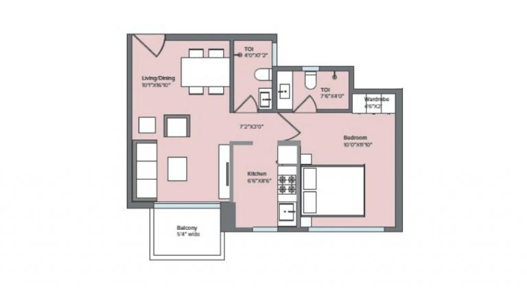 project-1bhk-with-balcony-unit-plan-marathon-nexzone-palaspe-phata-panvel–navi-mumbai-maharashtra