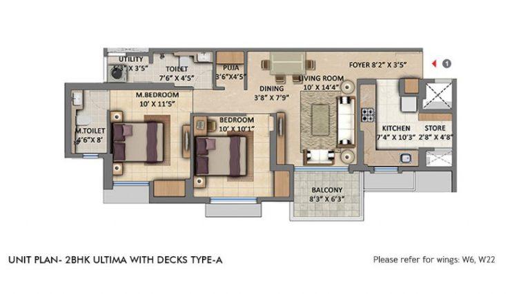 project-2-bhk-ultima-with-deck-type-a-unit-plan-lodha-amara-lodha-group-kolshet-road-thane-west-maharashtra