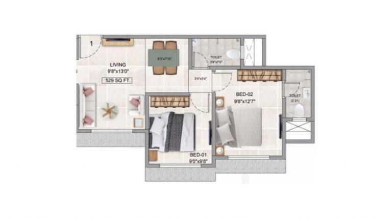 project-2bhk-floor-plan-adityaraj-avenue-adityaraj-group-kannamwar-nagar-2-vikhroli-east-mumbai-maharashtra