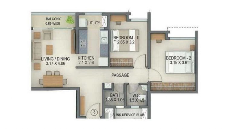 project-2bhk-type2-unit-plan-tata-amantra-tata-housing-bhiwandi-kalyan-juction-thane-mumbai-maharashtra