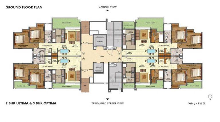 project-2bhk-ultima-3bhk-optima-ground-floor-plan-lodha-palava-lakeshore-greens-lodha-group-kalyan-shil-road-shilphata–thane-maharashtra