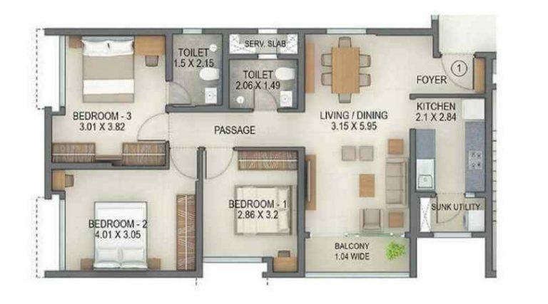 project-3bhk-unit-plan-tata-amantra-tata-housing-bhiwandi-kalyan-juction-thane-mumbai-maharashtra