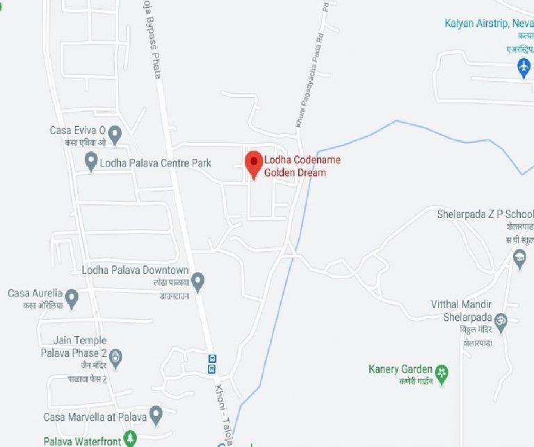 project-location-map-lodha-codename-golden-dream-lodha-group-taloja-navi-mumbai-maharashtra