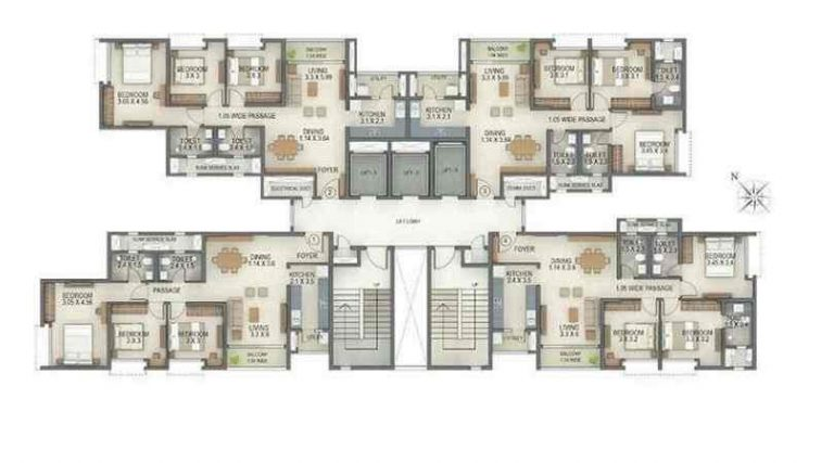 project-tower-a-typical-floor-plan-tata-amantra-tata-housing-bhiwandi-kalyan-juction-thane-mumbai-maharashtra