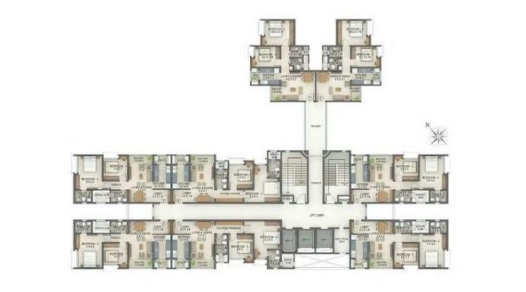 project-tower-e-l-typical-floor-plan-tata-amantra-tata-housing-bhiwandi-kalyan-juction-thane-mumbai-maharashtra