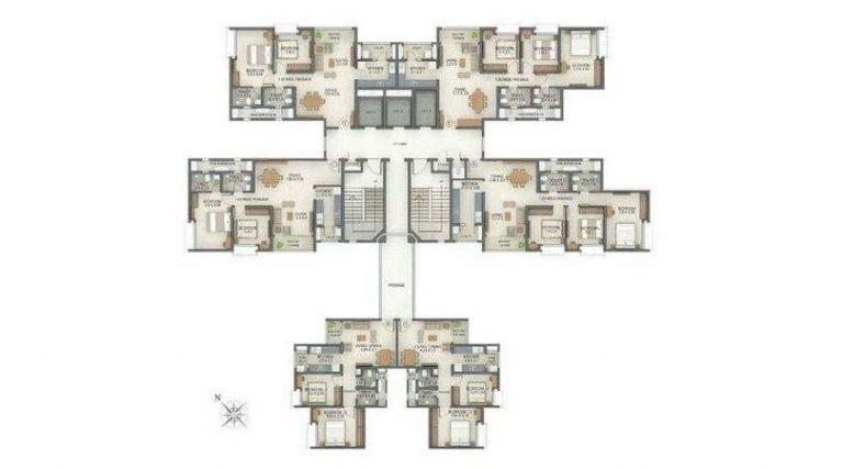 project-tower-g-typical-floor-plan-tata-amantra-tata-housing-bhiwandi-kalyan-juction-thane-mumbai-maharashtra
