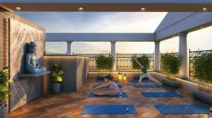 rooftop-yoga-desk-amenities-olympus-vaibhav-laxmi-builders-and-developers-kannamwar-nagar-vikhroli-maharashtra