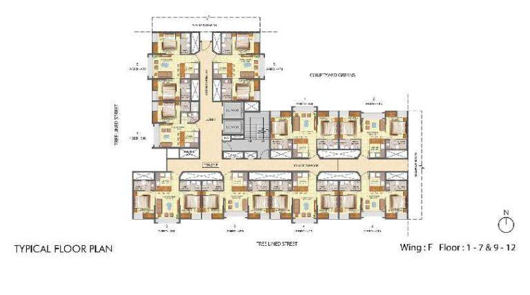 typical-floor-plan-jasmine-wing-f-lodha-crown-taloja-lodha-quality-homes-lodha-group-taloja-navi-mumbai-maharashtra