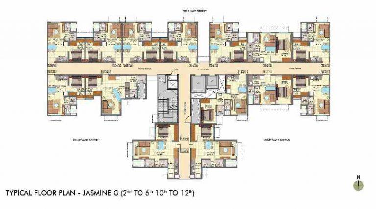 typical-floor-plan-jasmine-wing-g-lodha-crown-taloja-lodha-quality-homes-lodha-group-taloja-navi-mumbai-maharashtra