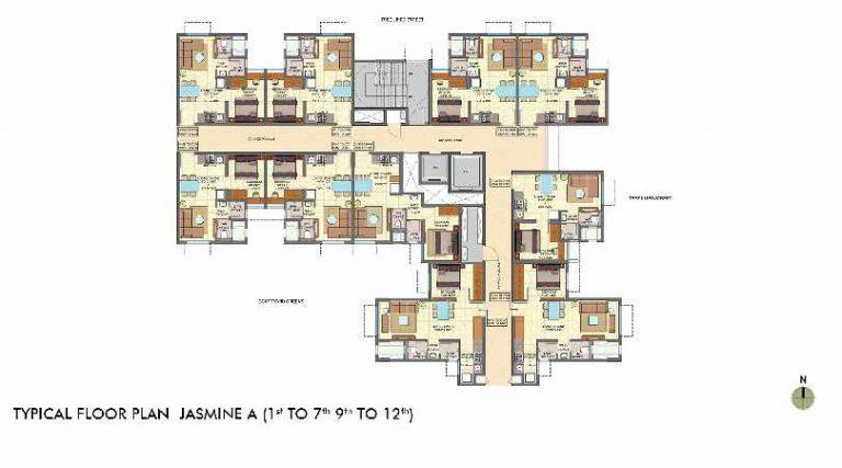 typical-flor-plan-jasmine-wing-a-lodha-crown-taloja-lodha-quality-homes-lodha-group-taloja-navi-mumbai-maharashtra