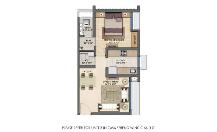 1-bhk-flats-floor-plan-lodha-upper-thane-casa-sereno-lodha-group-mumbai-maharashtra