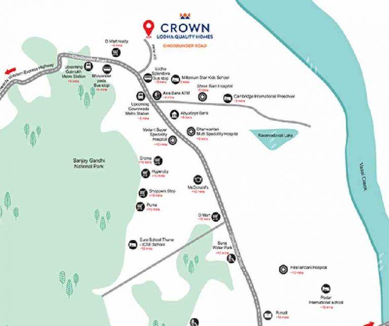 location-google-map-lodha-crown-splendora-ghodbunder-road-lodha-group-thane-mumbai-maharashtra