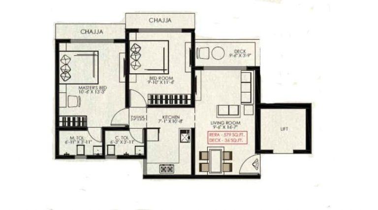 project-2bhk-with-deck-floor-plan-passcode-one-vaibhav-laxmi-developers-kannamwar-nagar1-vikhroli-east-mumbai-maharashtra