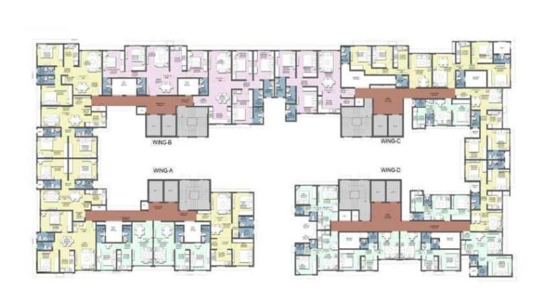 typical-floor-plan-terraform-dwarka-terraform-realty-ghakopar-east-maharashtra
