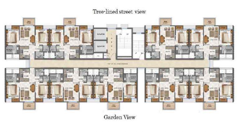 typical-floor-plan-lodha-palava-city-casa-aurelia-lodha-group-kalyan-shil-road-dombivali-thane-maharashtra